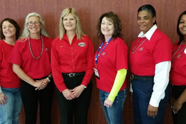 Women In Trucking Names Image Team Members