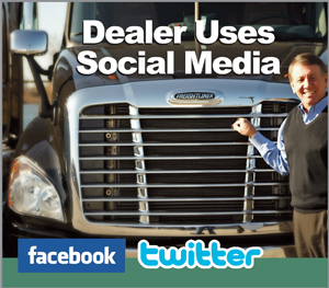 The Stoops Freightliner brand centers around Owner Jeff Stoops, pictured here.