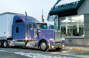 The legislation ups the weight limits for heavy trucks in Vermont from the previous 80,000 pounds gross weight.