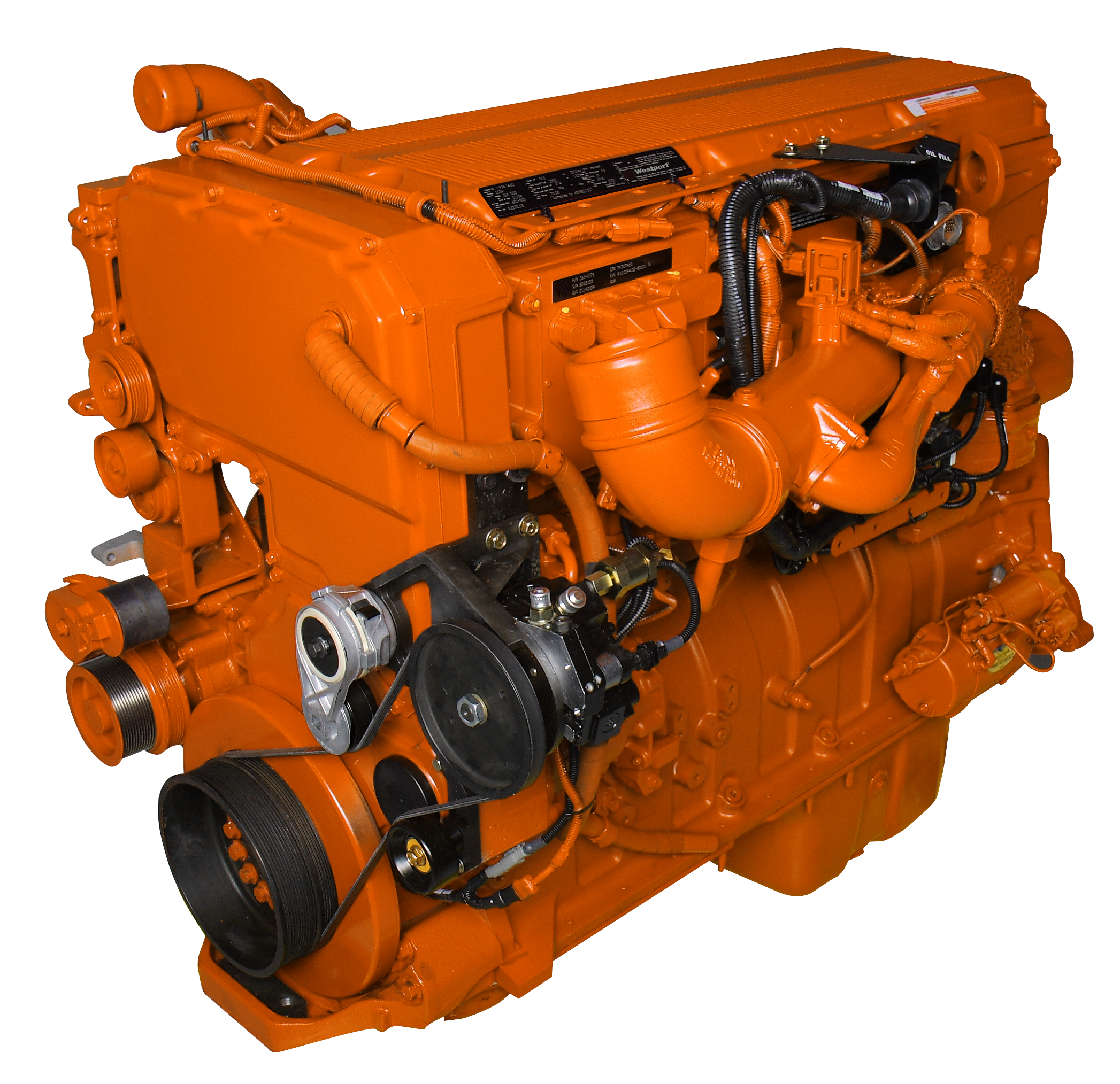 Westport Dropping 15-Liter LNG Engine for North America