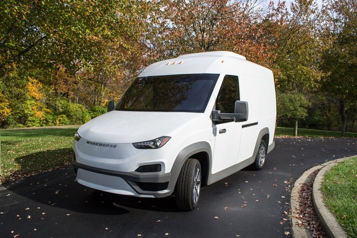 Workhorse N-Gen Electric Van: Drone Optional