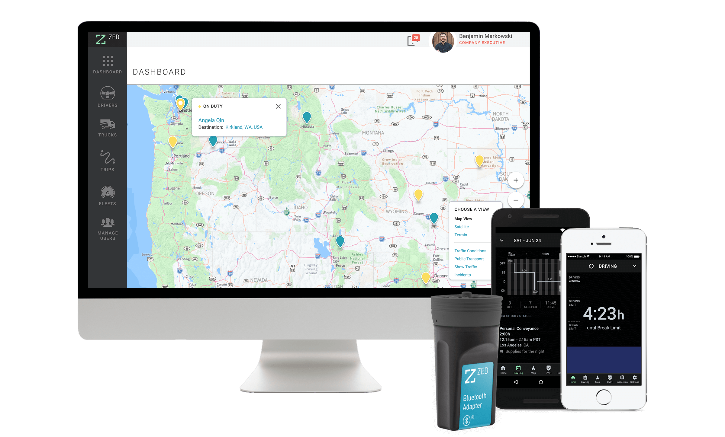 Cummins Launches Smartphone-Based ELD Solution