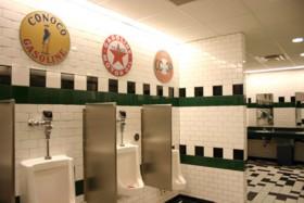 Iowa 80 men's restroom