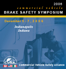 CVSA Hosts Brake Safety Symposium Dec. 5-7