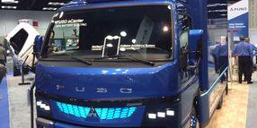 Mitsubishi Fuso Bringing Electric eCanter to U.S.