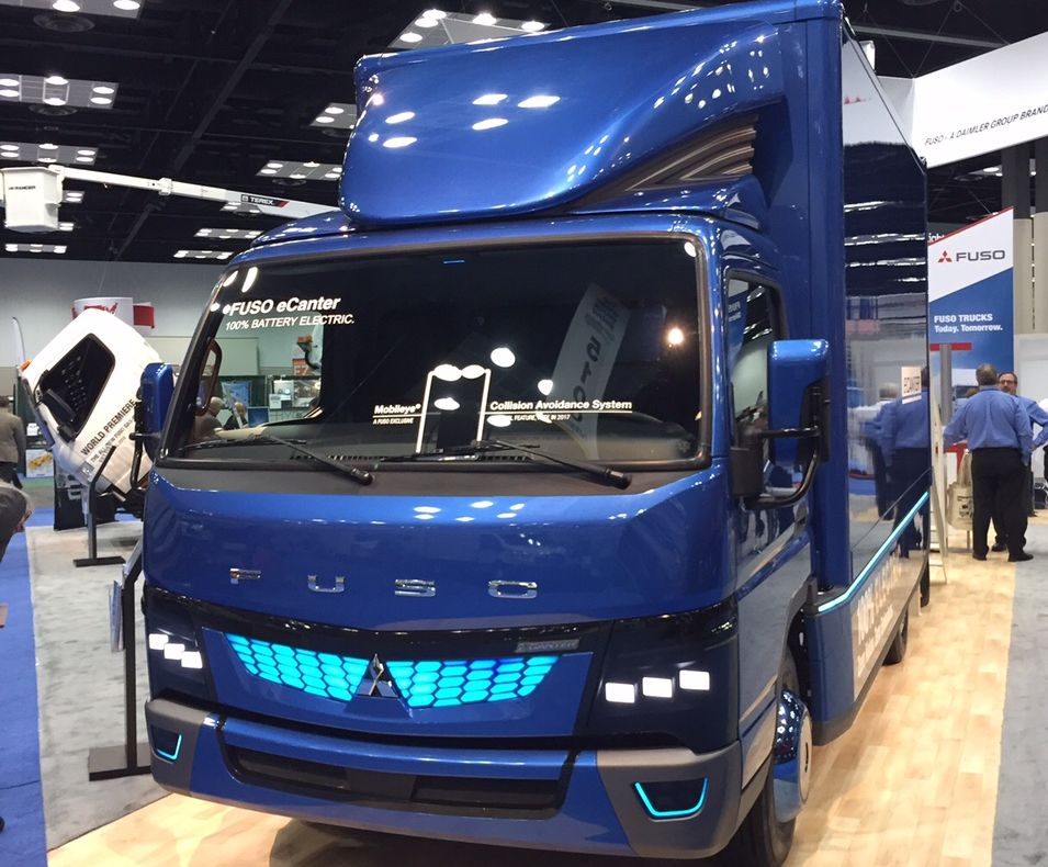Mitsubishi Fuso Bringing Electric eCanter to U.S.