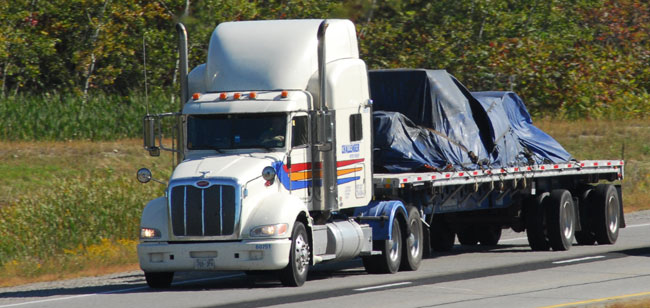 A surge in flatbed freight and tightening capacity could lead to shortages this spring and summer. (Photo by Jim Park)