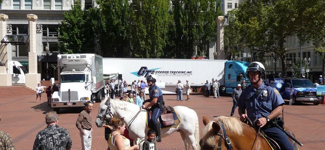 The Fleet Forward program was created to recognize fleets for taking steps to reduce exhaust emissions and going beyond what's required in the state of Oregon.
