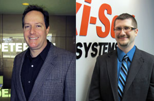 Peterson Manufacturing promoted Tom Lynch (left) to manager of OEM accounts and Kevin Cornelius to general manager of Peterson's Maxi-Seal division.