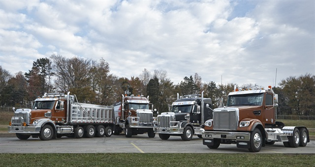 Different configurations of the Freightliner 122SD. Photo courtesy of Freightliner Trucks