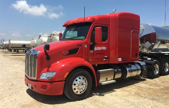 The new trucks' specs focus on safety, light weight, and driver comfort. Photo Credit: Peterbilt