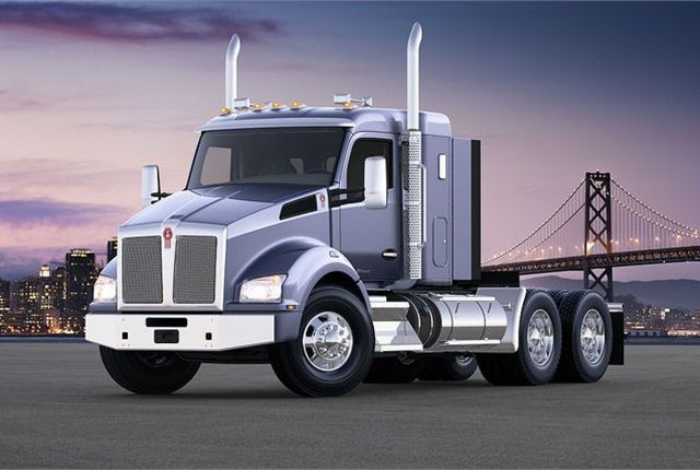 Kenworth's new 40-inch sleeper is now available for order with either the T880 (shown here) or T680. Photo: Kenworth