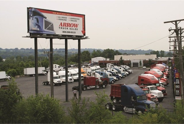Shorter equipment life cycles are easier on a fleet's bottom line, according to a new study by Fleet Advantage. Photo: Arrow Truck Sales