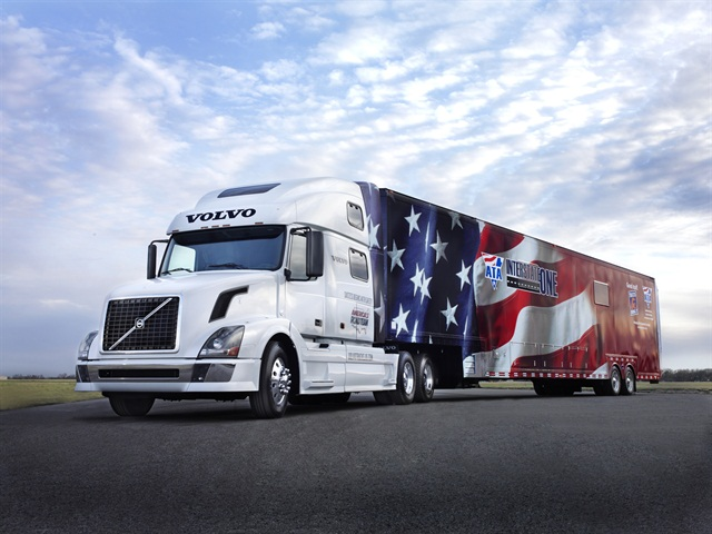 The Volvo VNL 780 being donated America's Road Team. Photo: Volvo Trucks