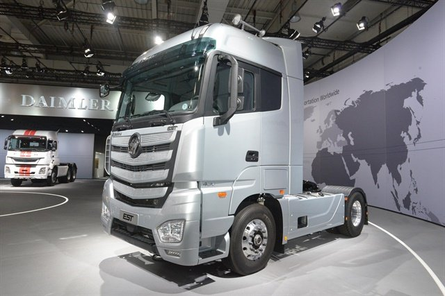 The Foton Motors Auman EST super truckn. Photo: Foton Motors