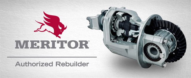 The Authorized Rebuilder Program for axle carriers is being launched in Canadian market with plans to extend it to the U.S. this year. Image via Meritor