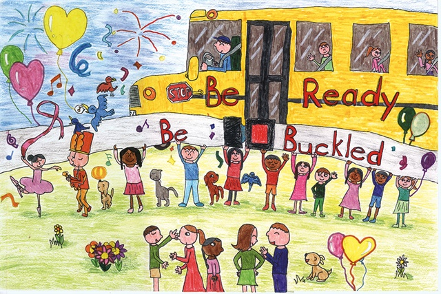 Artwork by Jessica Hong,2nd gradeEast Brunswick, New JerseyGrand Prize Winner (Kindergarten to 2nd Grade)