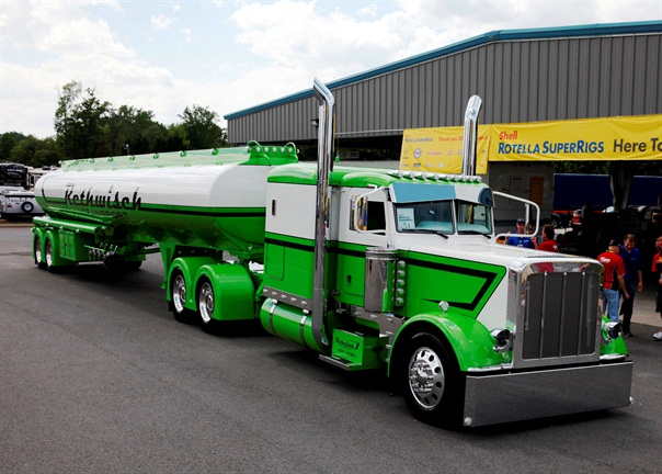 2014 Shell Rotella SuperRigs, Best of Show winner's truck, owned byBill Rethwisch of Tomah, Wis.Photo:Shell Lubricants/Conrad Schmidt