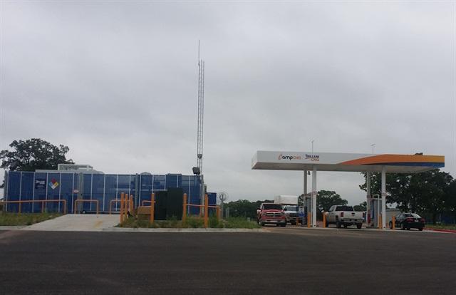Brock, TexasampTrillium Station Photo: Trillium CNG