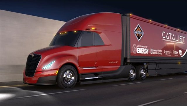 The CatalIST SuperTruck Image courtesy of Navistar