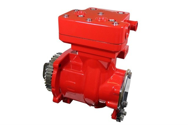 A Wabco air compressor for the Cummins' ISX diesel engine used in heavy-duty trucks. Photo: Wabco