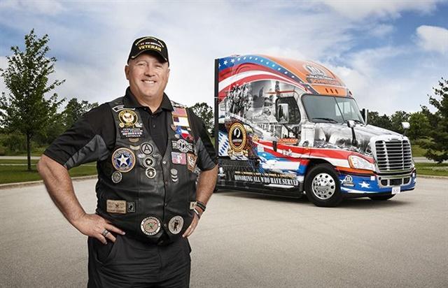 David Price has been chosen to drive the Ride of Pride Truck for Schneider. Photo: Schneider