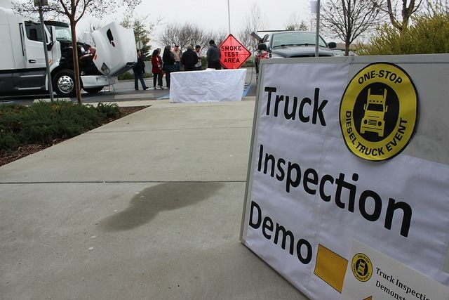 One Stop Diesel Truck sessions are being hosted statewide in partnership with local agencies and vendors. Photo courtesy of ARB