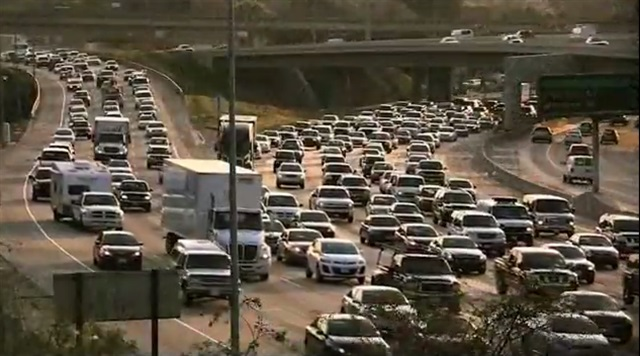 Congestion on California freeways Photo: U.S. DOT