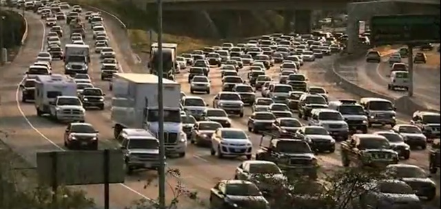 Congestion on a California freeway. Photo: U.S. Dept. of Transportation