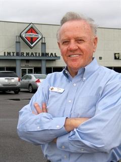 Truck Dealer of the Year Drew Linn Jr. outside one of his Birmingham-area facilities. (Photo by Evan Lockridge)