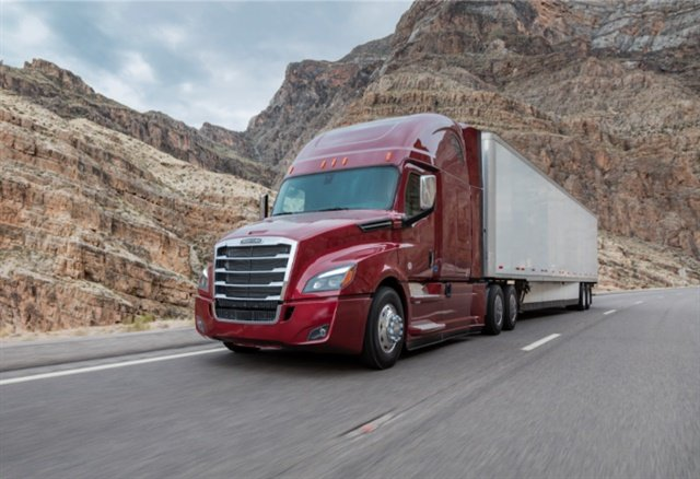 The 2018 Freightliner Cascadia. Photo courtesy Daimler Trucks North America.