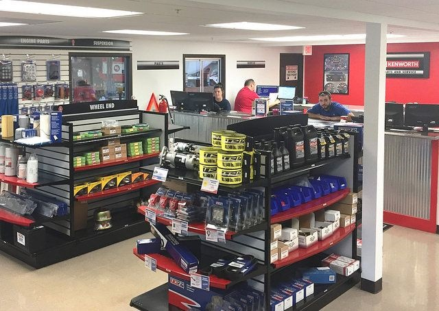 Parts and service at Kenworth of Effingham. Photo: Kenworth of Effingham