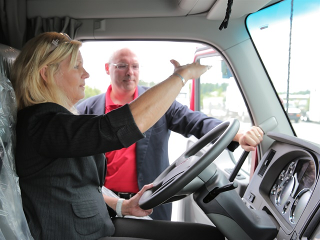 Photo: Women in Trucking