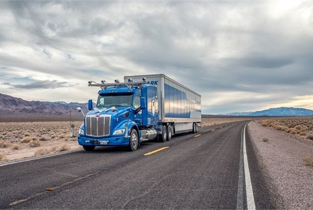 Embark says its initial autonomous vehicle control system will focus on weather-friendly routes with high freight volumes. Photo: Embark