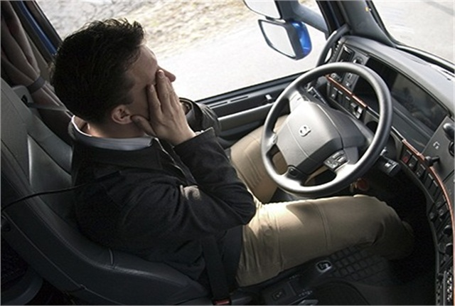 The moment an accident threat is detected, new system alerts the driver and monitoring staff through in-vehicle alarms and seat vibrations. Image: Seeing Machines