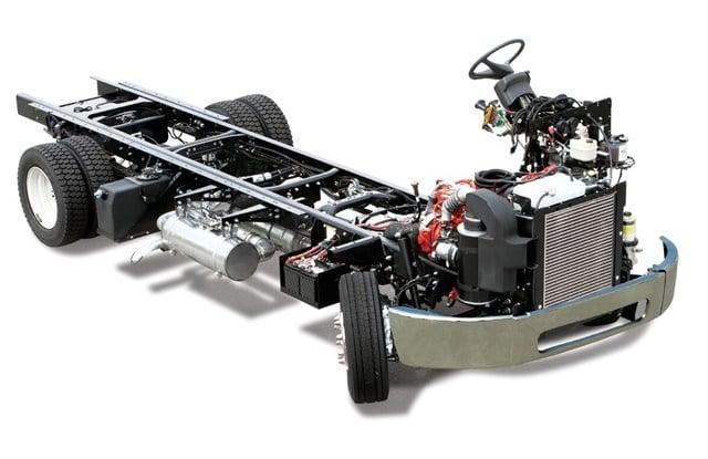 FCCC diesel MT 45-55 chassis. Image: FCCC