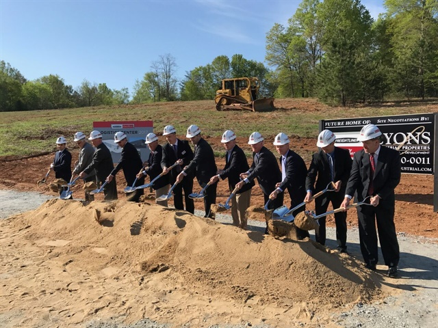 A groundbreaking ceremony for the new facility was held on April 13, 2017. (Photo: FCCC)