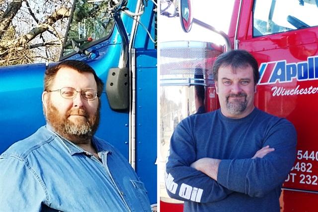 Two of the three Highway Hero Finalists, Mack Guffey (left) and Clinton Blackburn.Photo courtesy of Goodyear