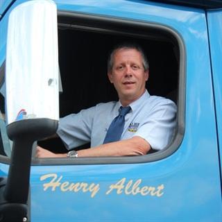 Henry Albert, president of Albert Transport Inc. Photo via Albert Transport.