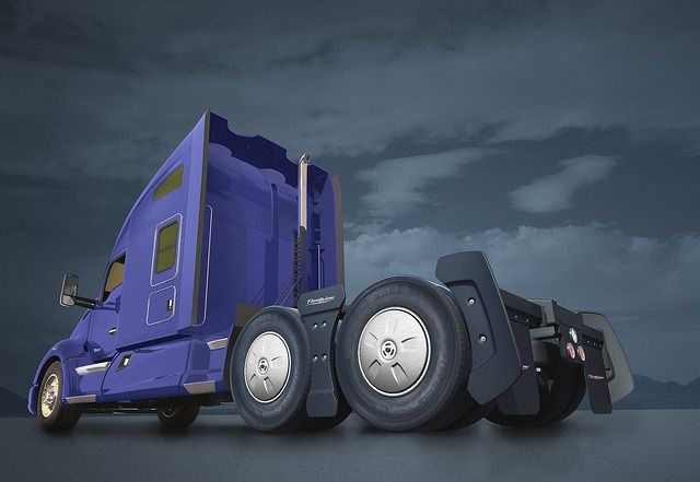 Kenworth now offers the FlowBelow Tractor AeroKitas a T680 option. Photo: Kenworth