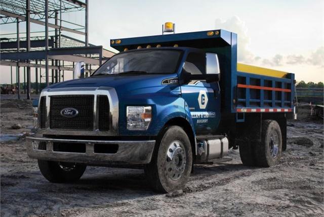2017 F-650 dump truckPhoto: Ford