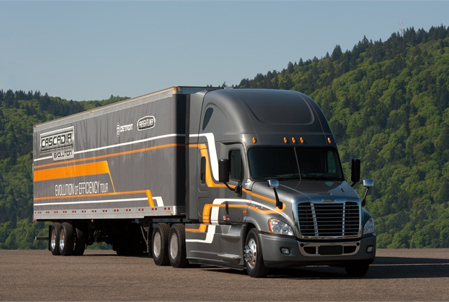 Much of the work Freightliner is doing for the DOE's SuperTruck program has already found its way into the fuel-saving Cascadia Evolution package.