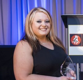 2016 Safety & Compliance Award winner Kelsey Wolfe of Southern Freight Services. Photo: Chris Wolski