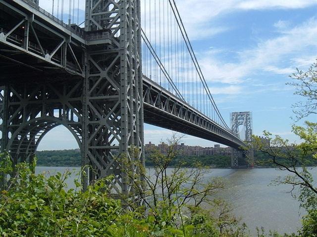 The George Washington Bridge: Photo via Wikipedia Commons.