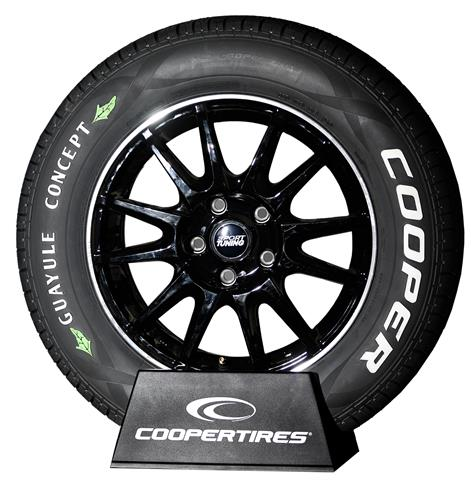 One of Cooper's concept tires made with guayule. Photo: Cooper Tire