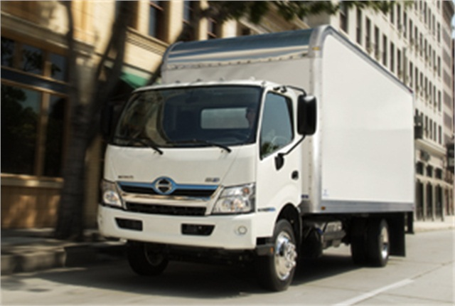 A Hino 195h similar to this one took home the ATD Commercial Truck of the Year award in the medium-duty category.