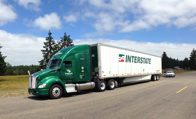 Interstate Distributor Co., was acquired by Heartland Express for around $113 million. Photo via Interstate Distributor Facebook page