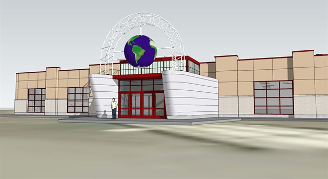 Concept art for the expanded and remodeled Iowa 80 Truckstop. Image: Iowa 80 Truckstop