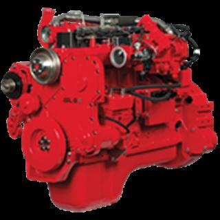 Photo of Cummins Westport ISL G engine courtesy of Cummins.