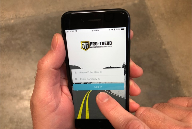 A new new mobile platform from ITI allows employees to meet training, safety and compliance needs with the tools fleets are already providing for ELD, routing, inventory and other fleet management needs. Photo: ITI